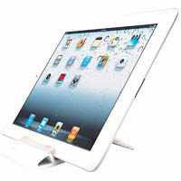 KENSINGTON CHAISE UNIVERSAL TABLET STAND WHITE